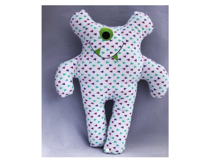 Monster doll - silly monster - cloth doll - cute monster - stuffed monsters -