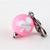 Kawaii Zipper Pull, Cat Collar Charm, Pink, Club Symbol, Playing Cards,