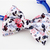 White Floral Print Bow Tie for Cats, Pet Accessories, Weddings, Pet Photography,