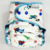 Space Robots - Cloth Diaper Or Cover - You Pick Size and Style - Made to Order