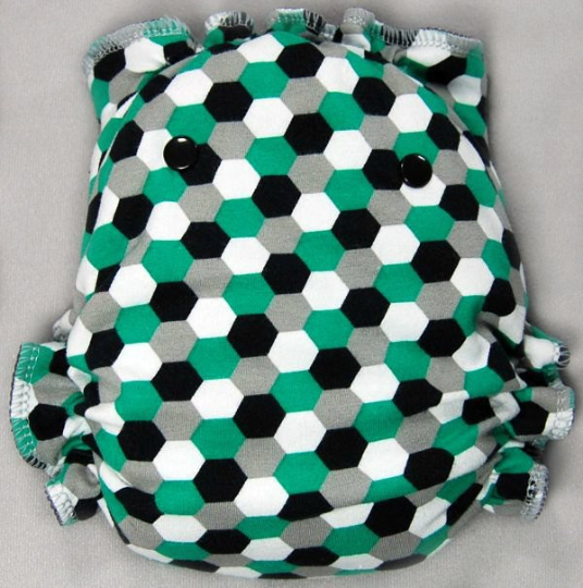 Green, Black, Grey Honeycomb - Made to Order