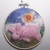 """Felted Pig in small Embroidery Hoop 4"""""""