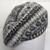 Fairisle beret hand knitted in pure wool/wool blend
