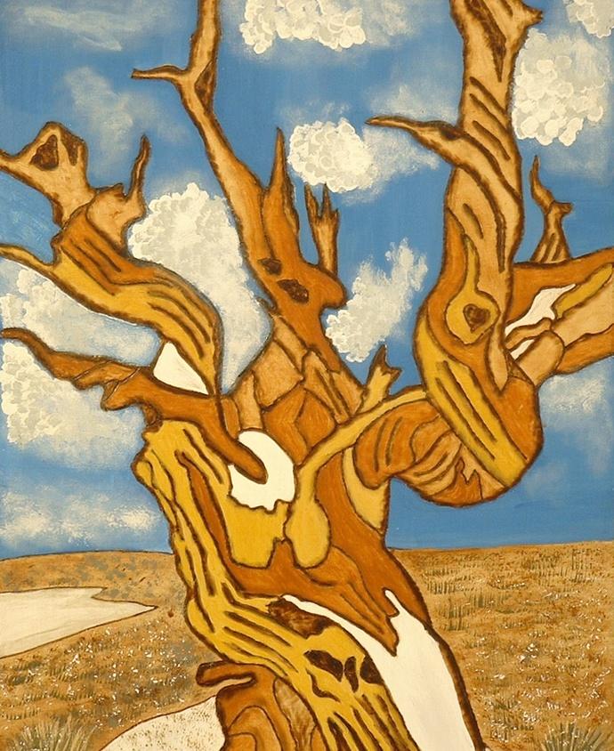 Desert Southwest Tree, Wood Wall Art, Home Decor