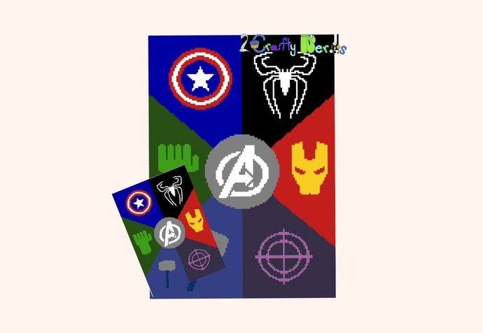 Avengers Combo Graph Spiderman Edition with SC, TSS and MiniC2C Written