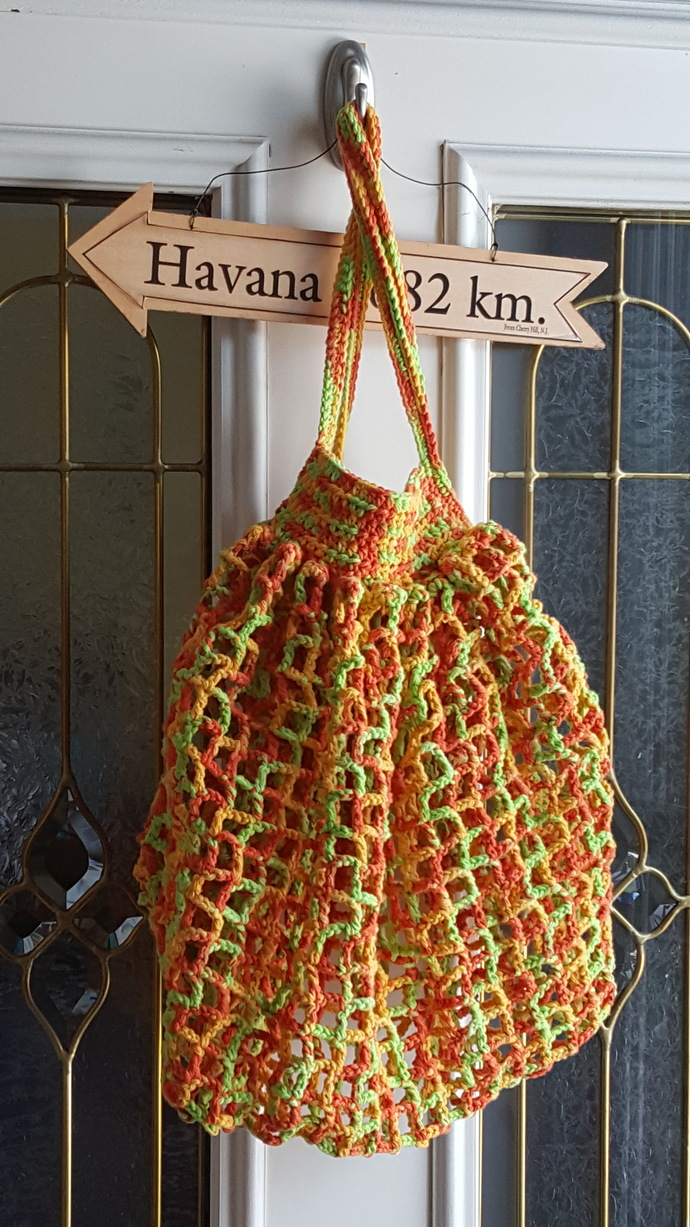 French Style Market Bag