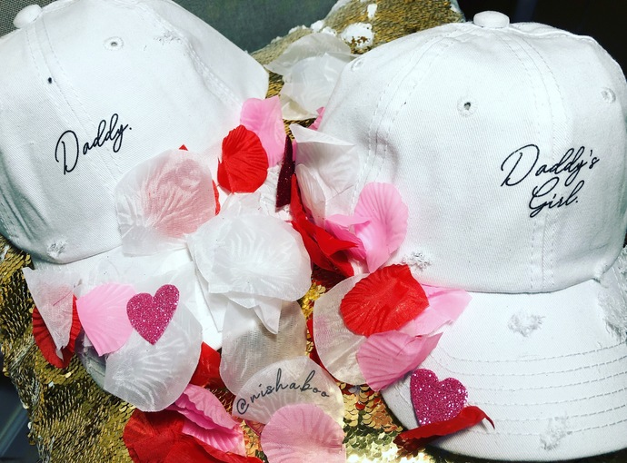 Daddy & Daddy's Girl Hat Bundle