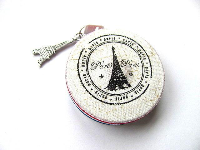 Paris France Retractable Tape Measure