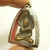 Nakprok Buddha protect by 7 heads naga snakes Thai antique amulet strong