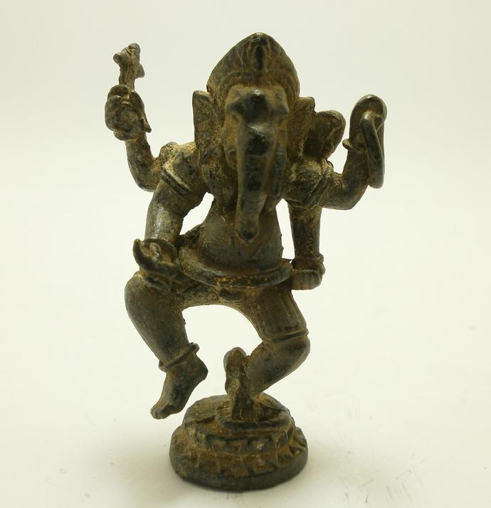 Lord Ganesh Ganesha dancing ganapati vinayaka miniature lucky Hindu god deity