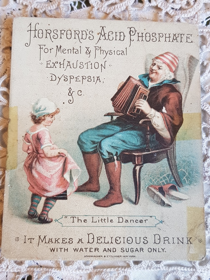 1800s advertisement trade card