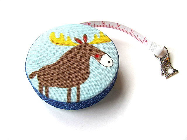 Tape Measure Woodland Animals Retractable Measuring Tape