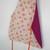 Childs reversable apron,girls apron, dark purple apron, floral apron, art apron,