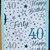 Handmade,Handmade Card,Handmade Birthday Card,40,Forty,40 Birthday Card,Forty