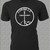Cursillo 'Nail Cross' Logo on custom t-shirt — Makes a great gift for the