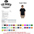 'De Colores' text and Cursillo logo on custom t-shirt — Makes a great gift for