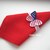 FSL 3D butterfly napkin ring 4th of July American Patriotic Free Standing Lace