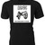 AC/DC 'For Those About to Rock' vinyl album cover  on Custom T-Shirt makes a