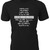 "Queen lyrics 'Bohemian Rhapsody"" graphic on Custom T-Shirt makes a great gift"
