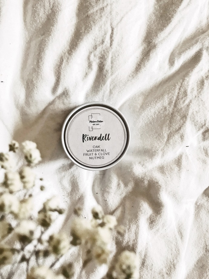 Rivendell - 4oz Candle - Lord of the Rings Inspired - Scented Soy Candle - Book