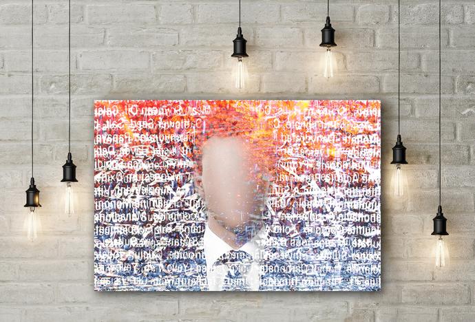 """Chaos"" - PTSD Art Series - Art Therapy - Print"