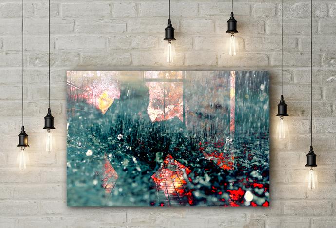 """Cleanse"" - PTSD Art Series - Art Therapy - Print"