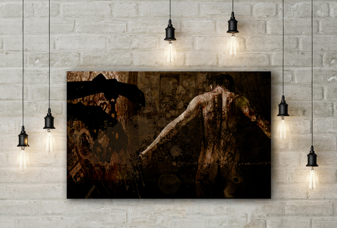 """Control"" - PTSD Art Series - Art Therapy - Print"