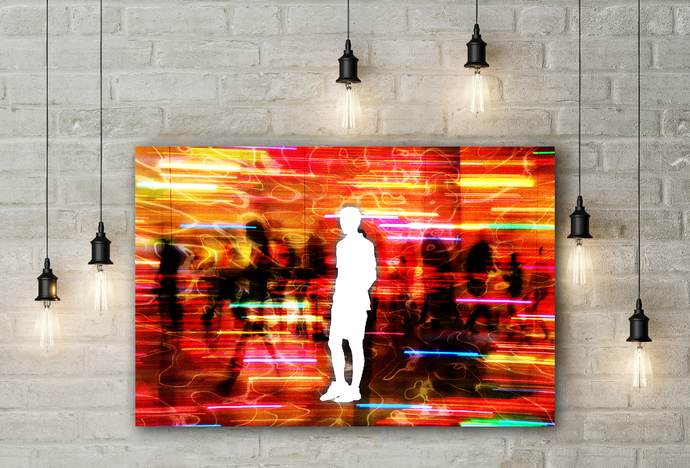 """Dissociation"" - PTSD Art Series - Art Therapy - Print"
