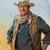 John Wayne Portrait Cross Stitch Pattern***LOOK***X***INSTANT DOWNLOAD***