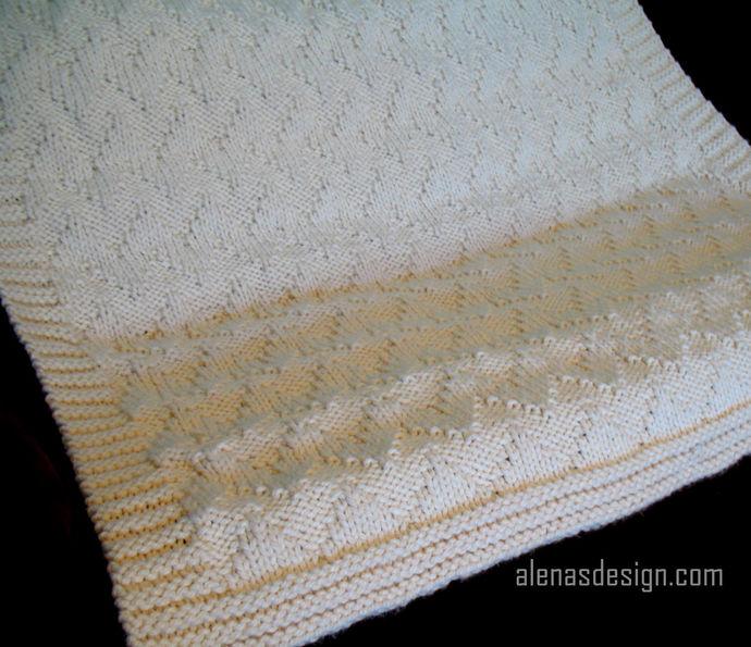Chevron Afghan Knitting Pattern 220 Throw Pattern Baby Blanket Knit Blanket