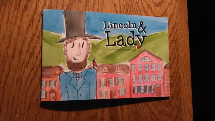 Lincoln and Lady Book- Hard Cover