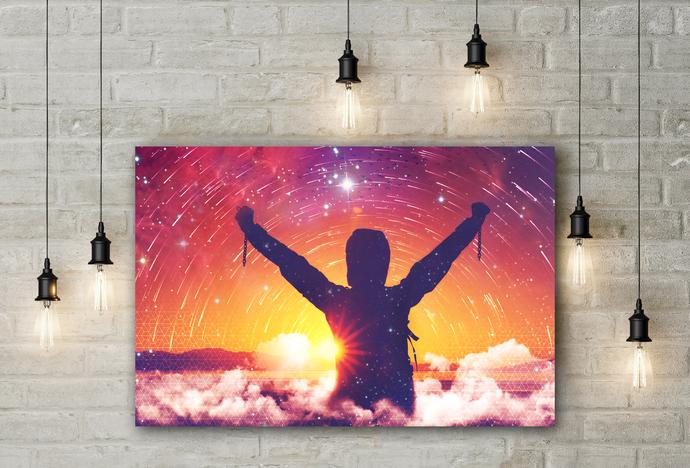 """Freedom"" - PTSD Art Series - Art Therapy - Print"