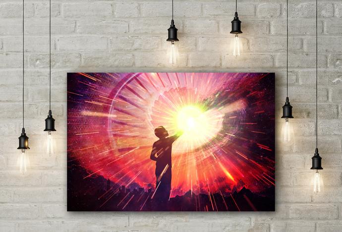 """Healing"" - PTSD Art Series - Art Therapy - Print"