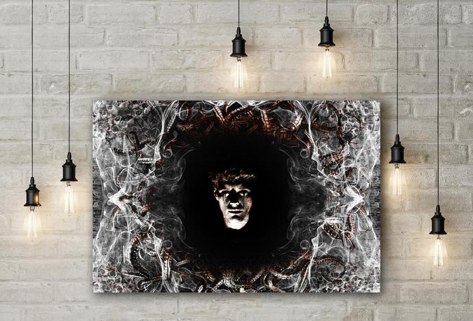 """Insomniac"" - PTSD Art Series - Art Therapy - Print"