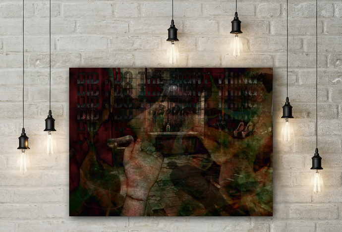 """Nightmare"" - PTSD Art Series - Art Therapy - Print"