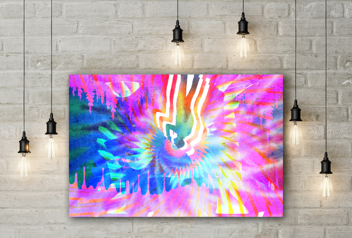 """""""Psychedelic"""" - PTSD Art Series - Art Therapy - Print"""