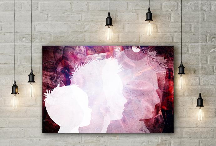 """Searching"" - PTSD Art Series - Art Therapy - Print"