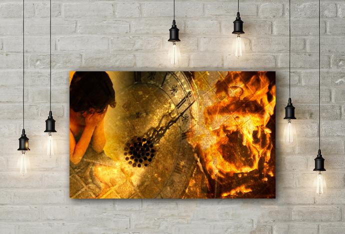 """This Time"" - PTSD Art Series - Art Therapy - Print"