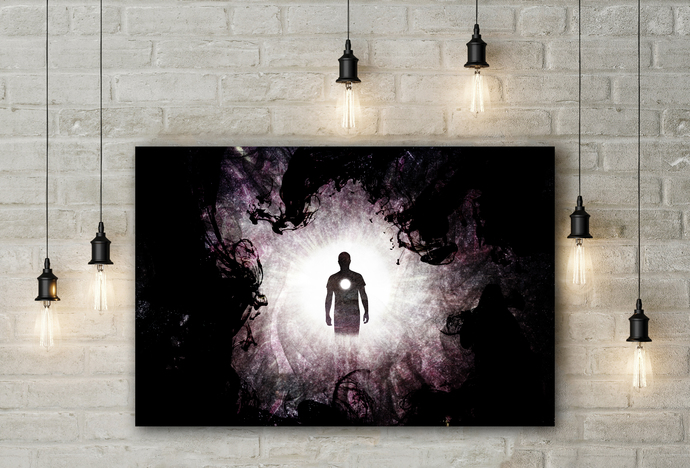 """Void"" - PTSD Art Series - Art Therapy - Print"