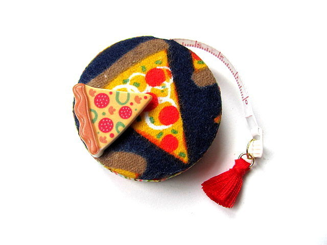 Tape Measure Hot Pizza Slices Retractable Measuring Tape