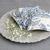 Set of Three Petite Lavender Sachets | Blue & Cream Paisley Floral