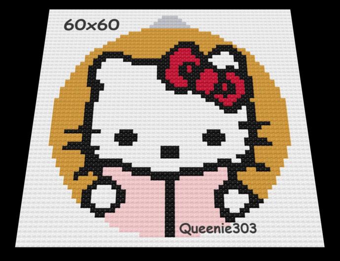 Ornament Hello Kitty 60x60