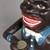 Vintage Blackamoor Mechanical Money Bank Cast Iron Moneybox