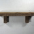 """Wall shelf 16"""" wide 3.25"""" deep,handcrafted from weathered wood."""