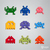 Make your own papercraft Space Invaders | DIY wall mount décor | 3D papercraft