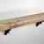 "Wall shelf 22"" wide 4"" deep,reclaimed wood with metal brackets"