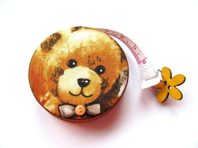 Retractable Measuring Tape Teddy Bears Tape Measure