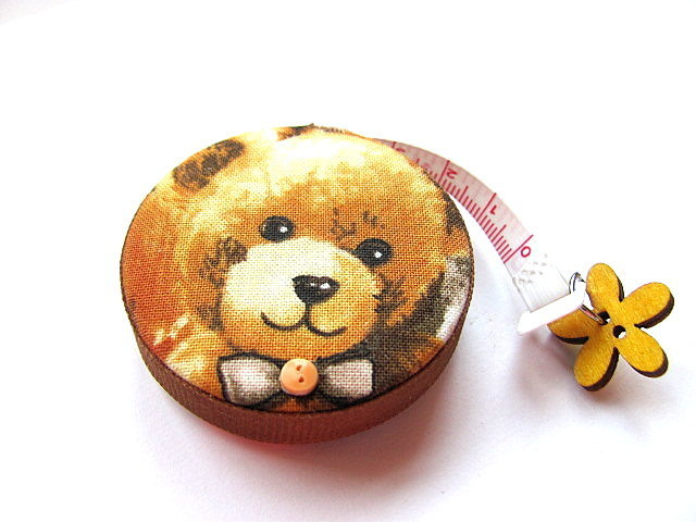 Retractable Measuring Tape Teddy Bears Tape Measure