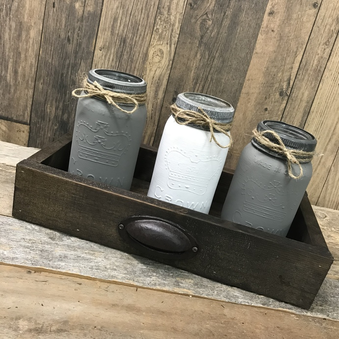 DIY- Rustic Drawer Caddy