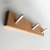 Modern Style Wall Coat Rack in Recycled Wood and Metal